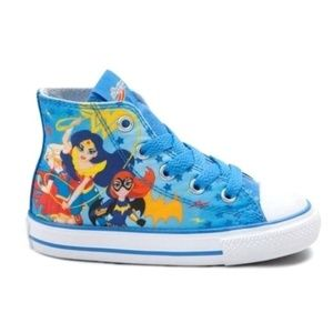 Converse DC Superhero Girls high top sneakers shoe